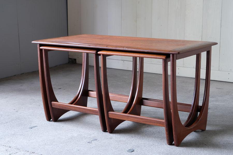 イギリスヴィンテージ G-PLAN製 ネストテーブル