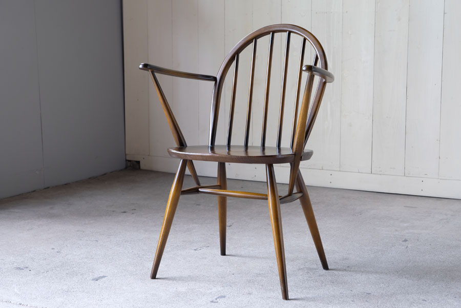ERCOL フープバックアームチェア
