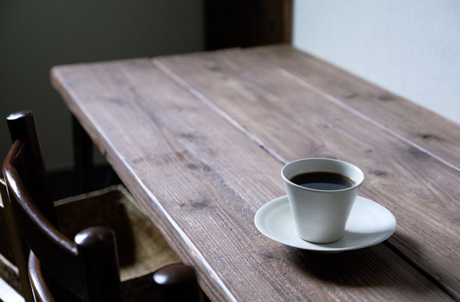 オリジナルブレンドは地元のコーヒー屋さん