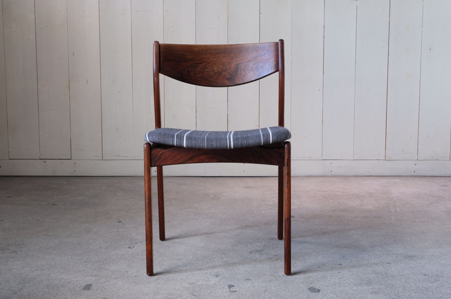 Danish rosewood dining chairs by P.E. Jorgensen for Farso Stolefabrik, 1960s, です